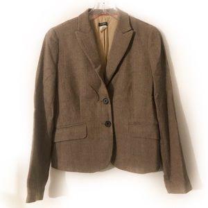 J.Crew Wool Herringbone Blazer
